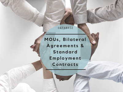 This database contains available MOUs/BLAs and Standard Employment Contracts in the region.
