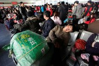 China begins largest annual human migration on earth