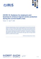 COVID-19: Guidance for employers and business to enhance migrant worker protection during the current health crisis