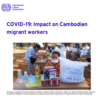 COVID-19: Impact on migrant workers and country response in Cambodia