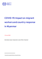 COVID-19: Impact on migrant workers and country response in Myanmar