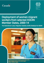 Deployment of women migrant workers from selected ASEAN Member States, 2000-14