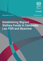 Establishing Migrant Welfare Funds in Cambodia, Lao PDR and Myanmar