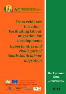 From evidence to action: Facilitating South-South labour migration for development