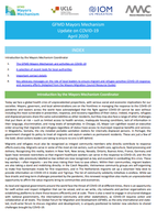 Global Forum on Migration and Development (GFMD) Mayors Mechanism and Activities on COVID-19