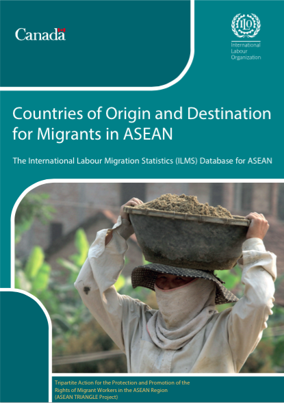ILMS Database for ASEAN: Countries of Origin and Destination for Migrants in ASEAN