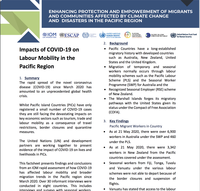 Impacts of COVID-19 on Labour Mobility in the Pacific Region