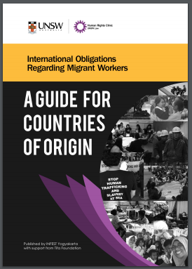 International Obligations regarding Migrant Workers: A Guide for Countries of Origin