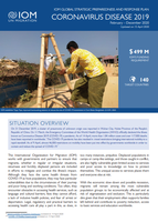 Global IOM COVID-19 response appeal (as of 15 April 2020)
