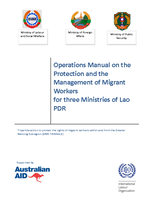 Lao PDR Operations Manual on the Protection and Management of Migrant Workers