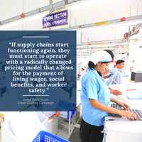 Live-blog: How the Coronavirus affects garment workers in supply chains