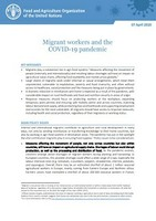 Migrant workers and the COVID-19 pandemic
