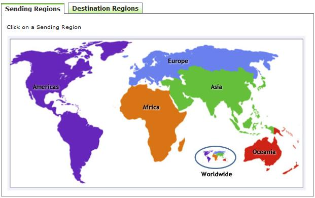 Updated World Migration Map - Updated world map
