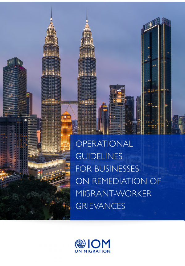Operational guidelines for Businesses on Remediation of Migrant-worker Grievances