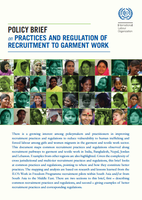 Policy Brief on Practices and Regulations of Recruitment to Garment Work