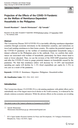 Projection of the Effects of the COVID-19 Pandemic on the Welfare of Remittance-Dependent Households in the Philippines