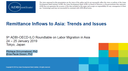 Remittance Inflows to Asia: Trends and Issues