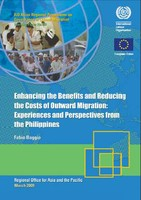 Enhancing the benefits and reducing the costs of outward migration: experiences and perspectives from the Philippines