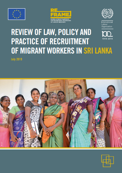Review of law, policy and practice of recruitment of migrant workers in Sri Lanka