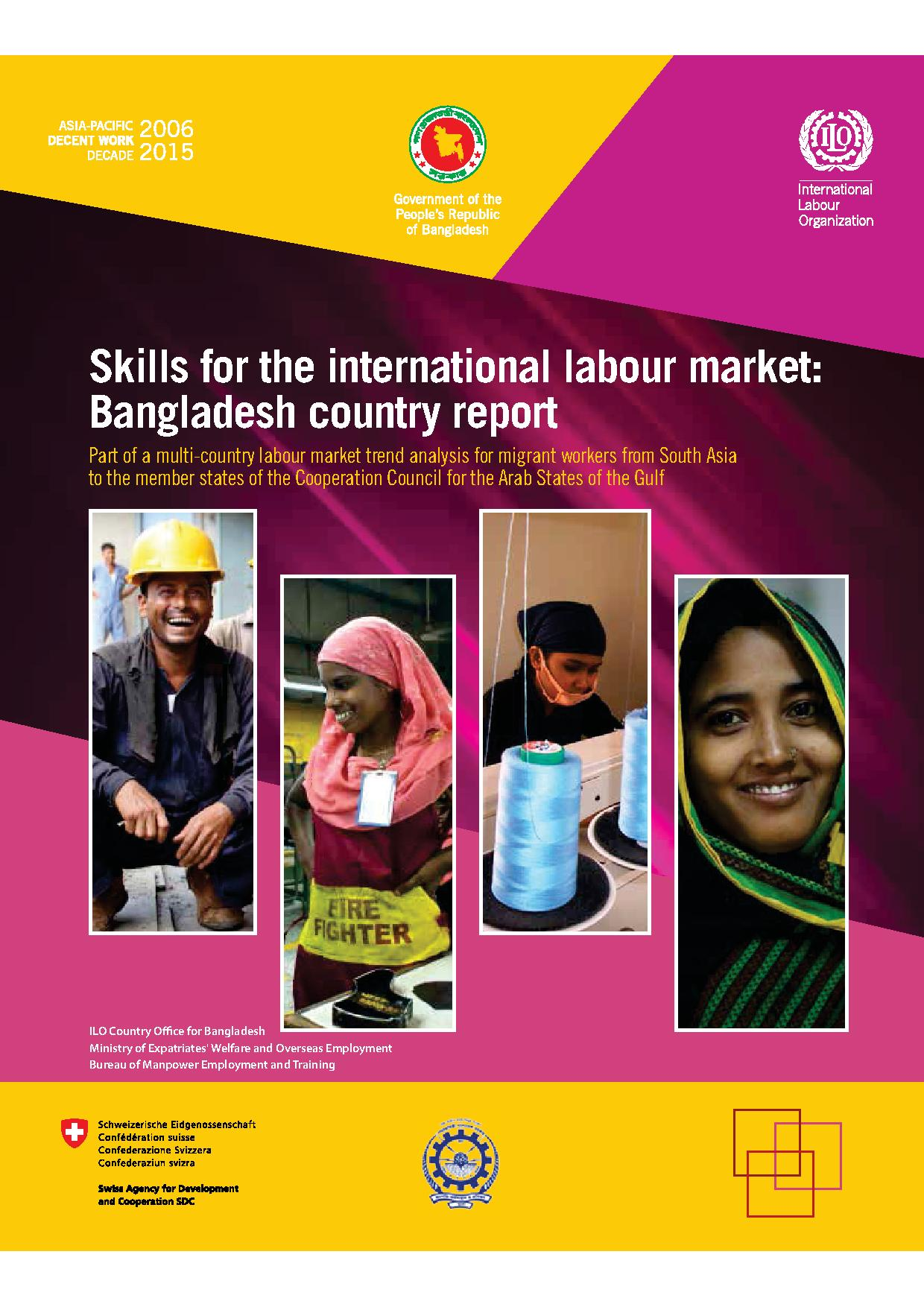Skills for the international labour market: Bangladesh