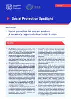 Social protection for migrant workers: A necessary response to the COVID-19 crisis
