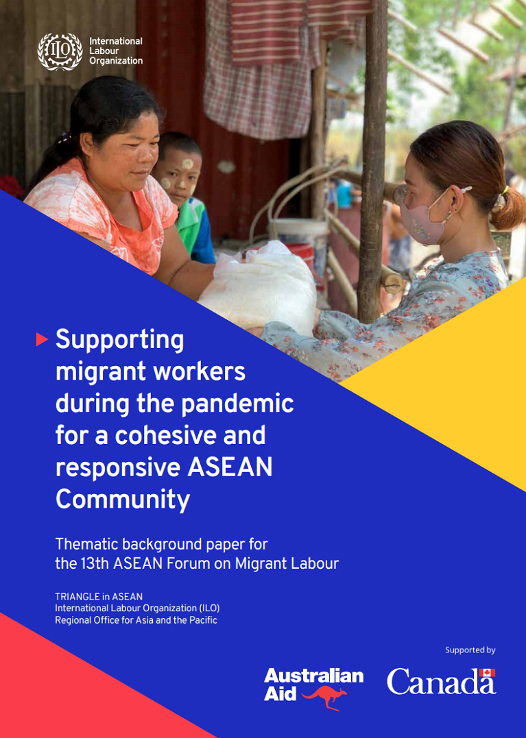 Supporting migrant workers during the pandemic for a cohesive and responsive ASEAN Community