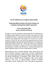 The 13th ASEAN Forum on Migrant Labour (AFML)