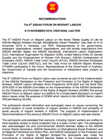 The 9th ASEAN FORUM ON MIGRANT LABOUR