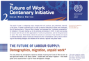 The future of labour supply: Demographics, migration, unpaid work