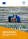 Where to go for help: Pakistani migrant workers' access to justice at home and in Gulf Cooperation Council countries