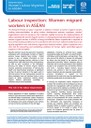 Women migrant workers in ASEAN policy brief: Labour inspection