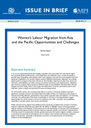 Women's Labour Migration from Asia and the Pacific: Opportunities and Challenges